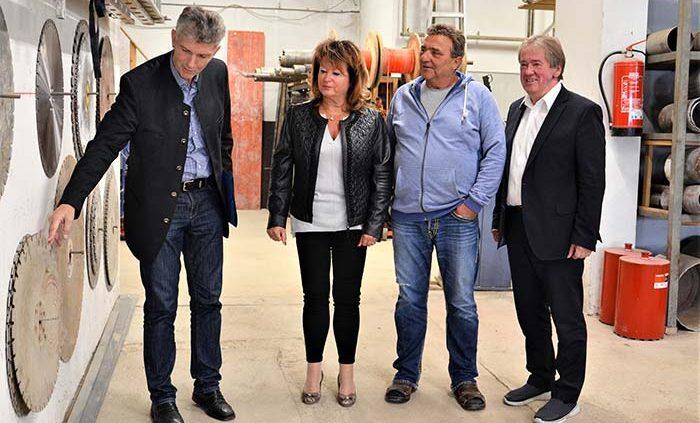 MdL Waschler besucht Mittelständler Allmannsberger